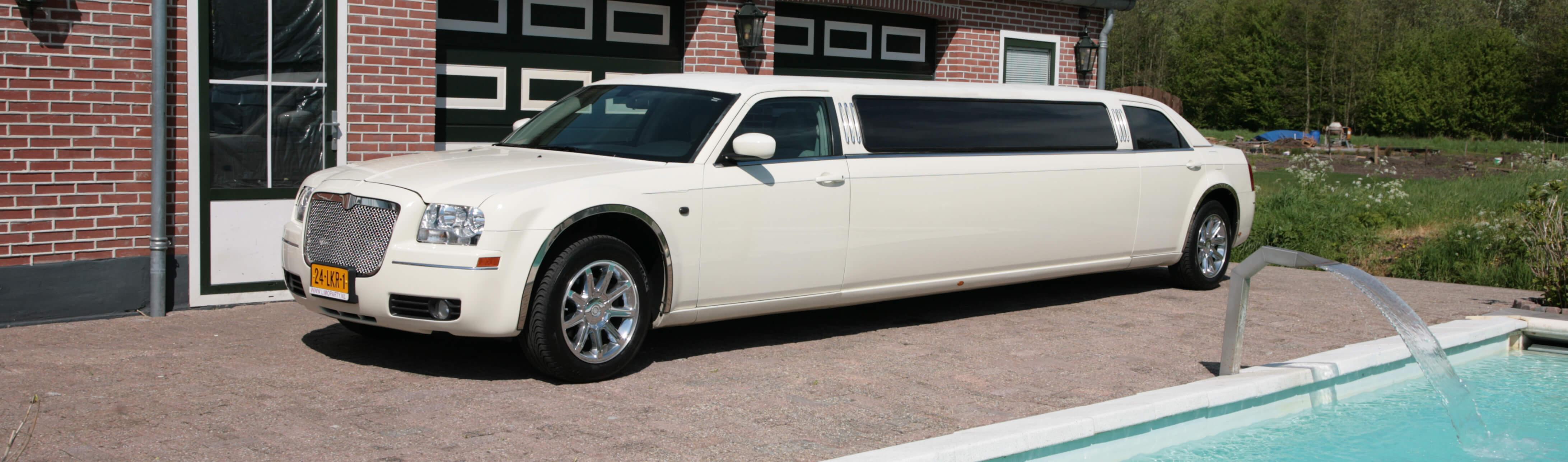 Prijzen limo, Limousine verhuur Utrecht, limo te huur Chrysler 300c limoparty.nl